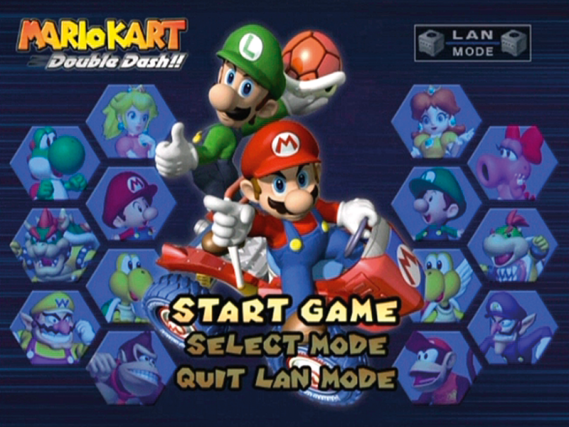 all mario kart double dash characters